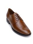 Tan Cap Stitching Toe Italian Leather Men's Shoe | Belvedere Studio Collection Shoes | Sam's Tailoring Fine Men's Clothing