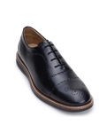 Black Classic Cap Toe Bal Men's Formal Oxford | Belvedere Studio Collection Shoes | Sam's Tailoring Fine Men's Clothing