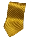 Yellow On Yellow Stripe Silk Extra Long Tie | Italo Ferretti Extra Long Ties | Sam's Tailoring Fine Men's Clothing