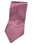 Pink Geometric Print Silk Extra Long Tie | Italo Ferretti Extra Long Ties | Sam's Tailoring Fine Men's Clothing