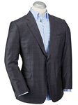 Navy Super 130's Wool Signature Plaid Sport Coat | Bobby Jones Sport Coat Collection | Sams Tailoring Fine Men's Clothing