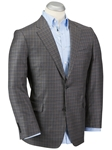 Charcoal Super 130's Wool Signature Plaid Sport Coat | Bobby Jones Sport Coat Collection | Sams Tailoring Fine Men's Clothing