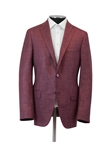Berry Silk Cashmere Linen Fully Lined Jacket | Hickey Freeman Sport Coat | Sam's Tailoring Fine Men Clothing