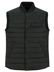Dark Green Water Repellent Lightweight Puffer Vest | Stone Rose Vests | Sams Tailoring Fine Men Clothing