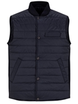 Navy Water Repellent Lightweight Puffer Vest | Stone Rose Vests | Sams Tailoring Fine Men Clothing