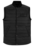 Black Water Repellent Lightweight Puffer Vest | Stone Rose Vests | Sams Tailoring Fine Men Clothing