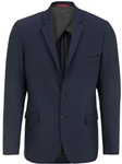 Navy Stretch Performance Moisture Wicking Blazer | Stone Rose Blazers | Sams Tailoring Fine Men Clothing