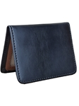 Black Bi-Fold ID Handcrafted Wallet | Lejon Leather Wallets | Sam's Tailoring Fine Men's Clothing