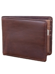 Brown Flat-Fold Handcrafted Leather Wallet | Lejon Leather Wallets | Sam's Tailoring Fine Men's Clothing