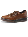 Mephisto Match Tan Grain - Casual Shoes | Sam's Tailoring Fine Men's Clothing