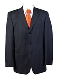 Navy Pinstripe Suit Suit & Sportcoats 3771 - Hugo Boss | SamsTailoring | Fine Men's Clothing