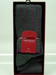 Extra Fine Merino Fancy Circo - Asphalt MAR3024L-076 - Socks Marcoliani  |  SamsTailoring  |  Fine Men's Clothing