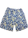 Yellow Flower Carmel Swim Trunks STK02-03 - Robert Talbott Swimwear | Sam's Tailoring Fine Men's Clothing