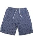 Geometric Carmel Swim Trunks STK03 - Robert Talbott Swimwear | Sam's Tailoring Fine Men's Clothing