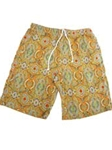 Orange Medallion Carmel Swim Trunks STK01-01 - Robert Talbott SwimWear | Sam's Tailoring Fine Men's Clothing