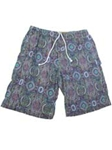 Green Medallion Carmel Swim Trunks STK01-02 - Robert Talbott Swimwear | Sam's Tailoring Fine Men's Clothing